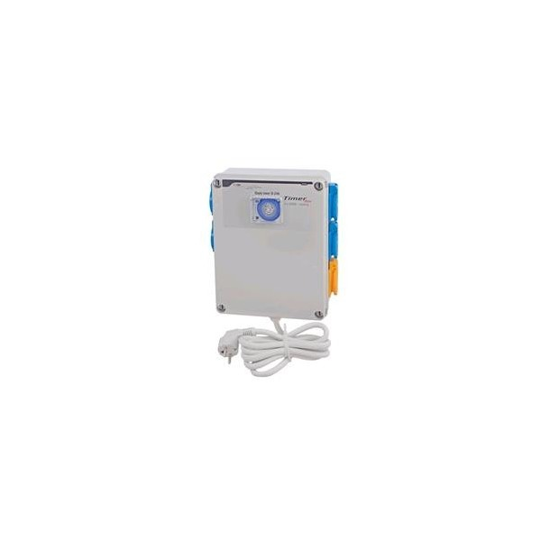 Timer Box 8x600 W + Riscaldamento