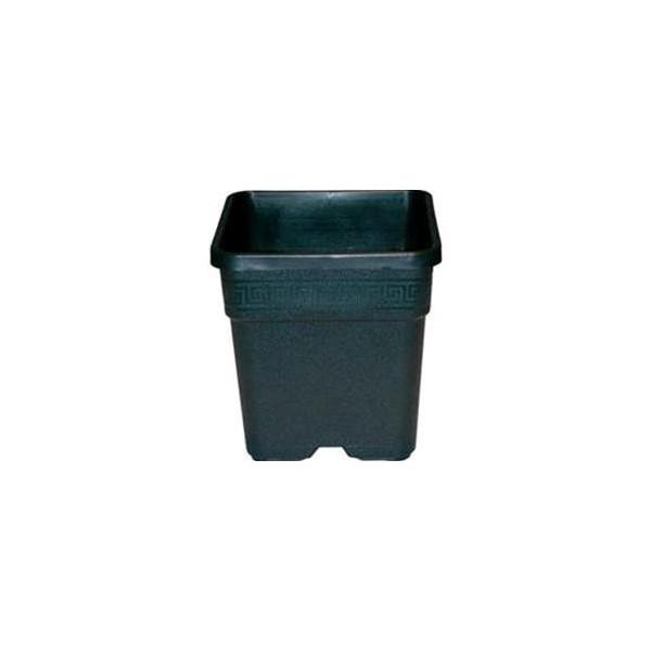 Vaso Quadrato 14 L 28,5x28,5x28,4 in plastica resistente