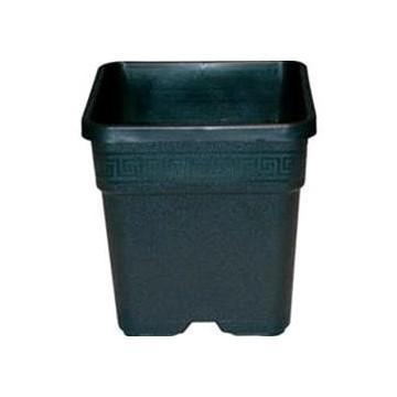 Vaso Quadrato 25 L 33,5x33,5x33,5 in plastica resistente