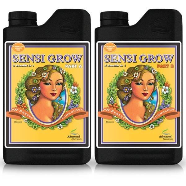Sensi Grow A+B 500ml - 1L - 5L Advanced Nutrients