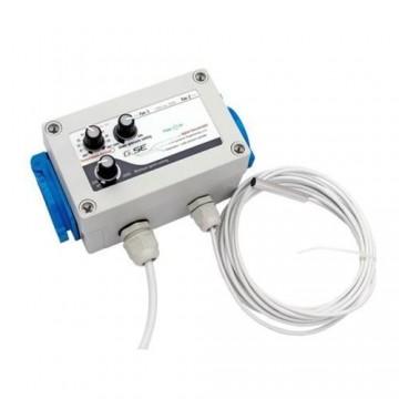 GSE - Controller Temperatura e Pressione Negativa 2 ventilatori 2 A