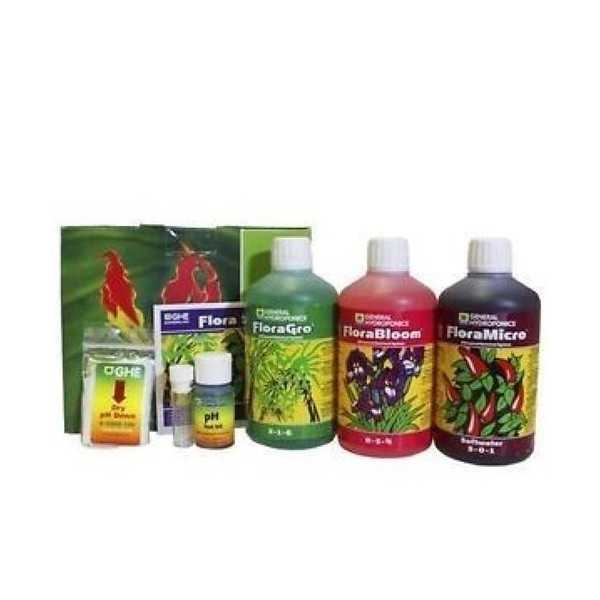 Ghe trypack Flora Series Grow Micro Bloom 0,5 L