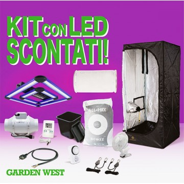 Kit 90x90x178 Con LED Attis...