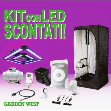 Kit 90x90x178 Con LED Attis...