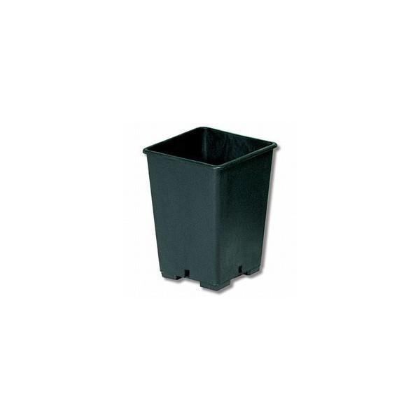 Vaso Quadrato In Plastica 13x13x18 Da 2,4 L