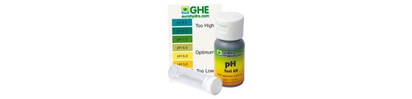 Phmetri - Misurazione pH indoor - coltivazione idroponica - aeroponica