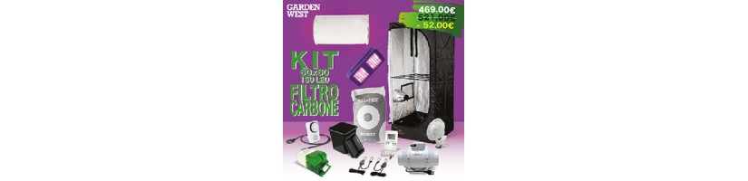 Kit Grow Box Completi- Kit coltivazione indoor Garden West Milano