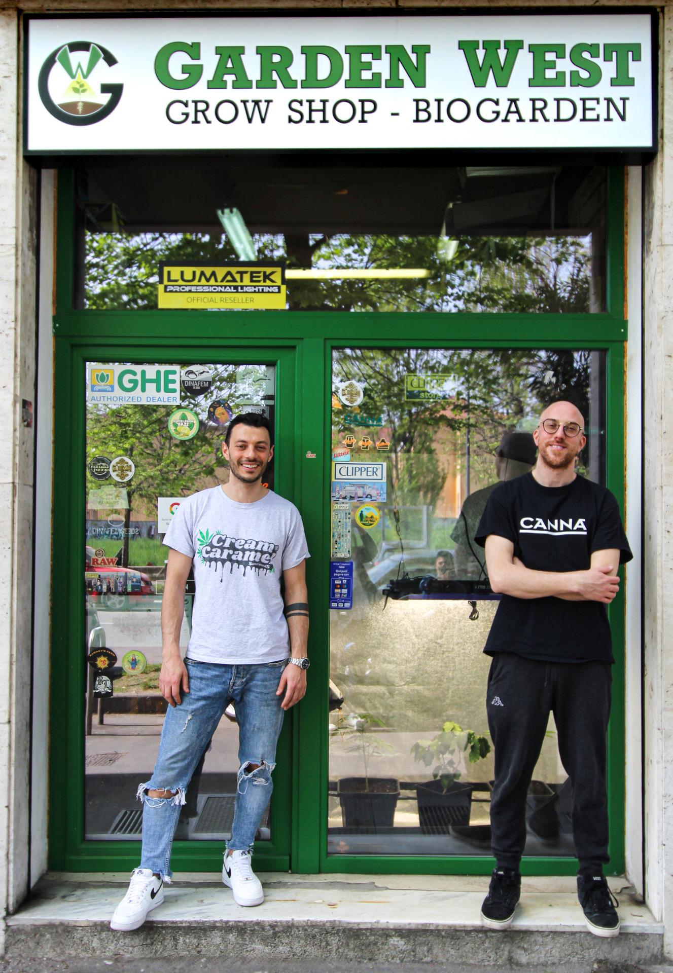 Garden West grow shop Milano Ovest